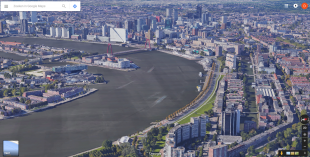 Rotterdam 3D in Google Maps